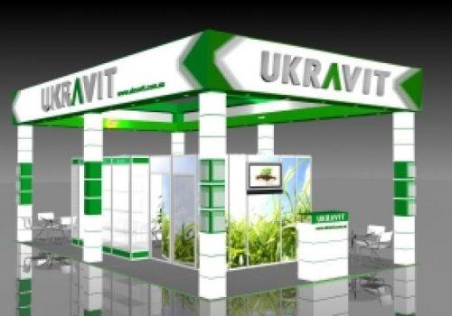 Компанія UKRAVIT представила свою продукцію на виставці Агро Весна 2018